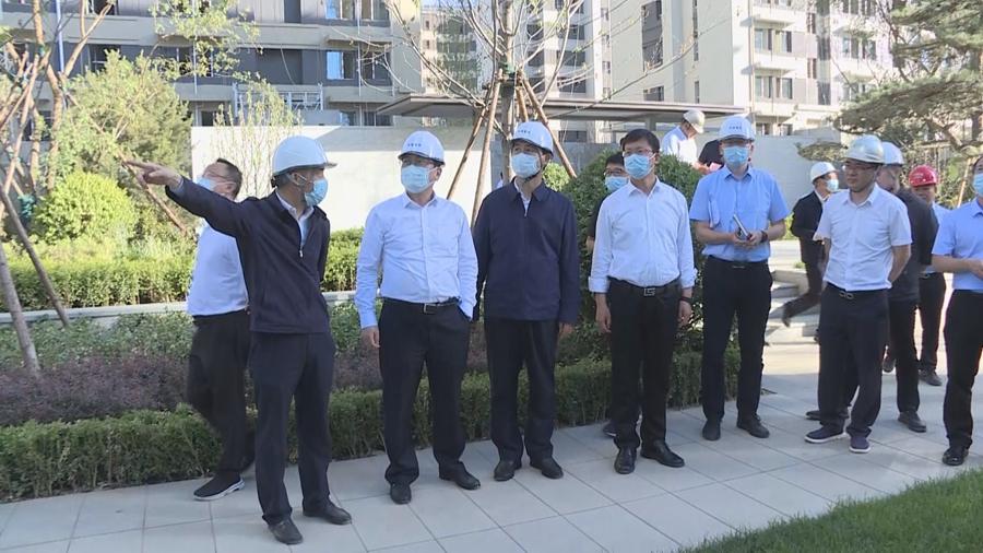 张国华在容东片区和启动区调研重点项目建设