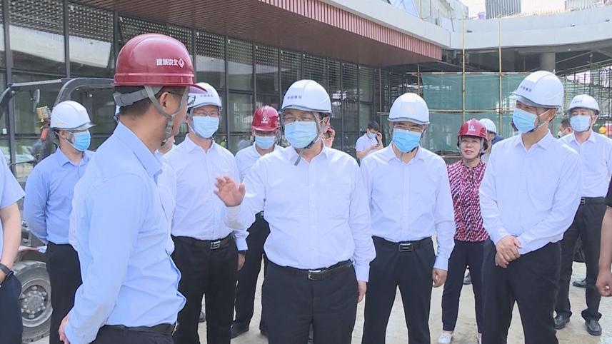 张国华调研重点项目建设情况