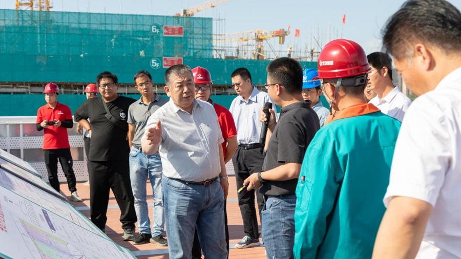 刘树军到雄安安新县、容城县调研防汛备汛工作