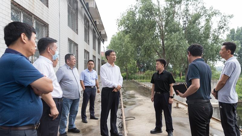 田金昌、刘树军调研检查防汛备汛、安全生产工作