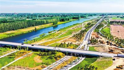 百里生态智能堤防如何打造——雄安新区环起步区生态防洪工程探访