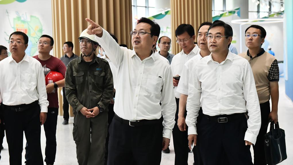 张国华调研雄安郊野公园建设