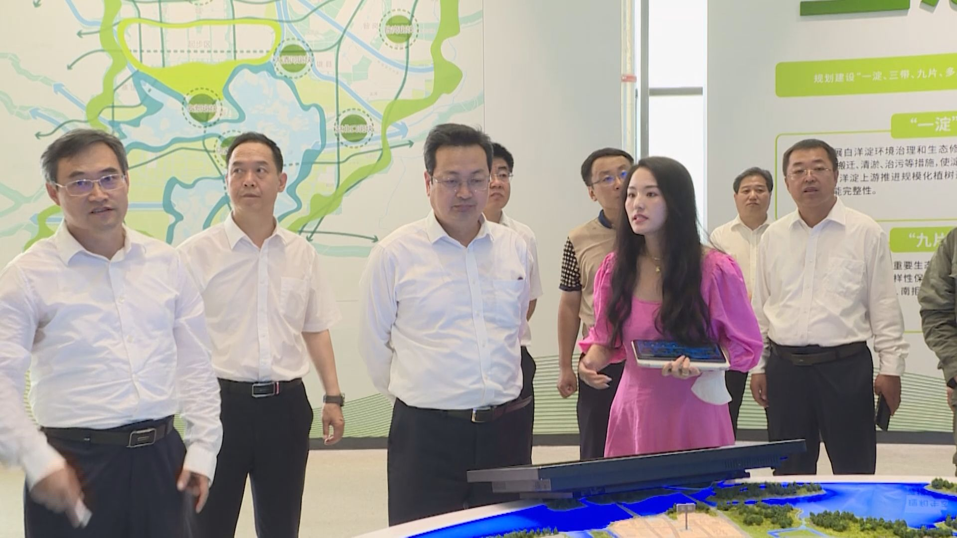 时政播报丨张国华调研雄安郊野公园建设