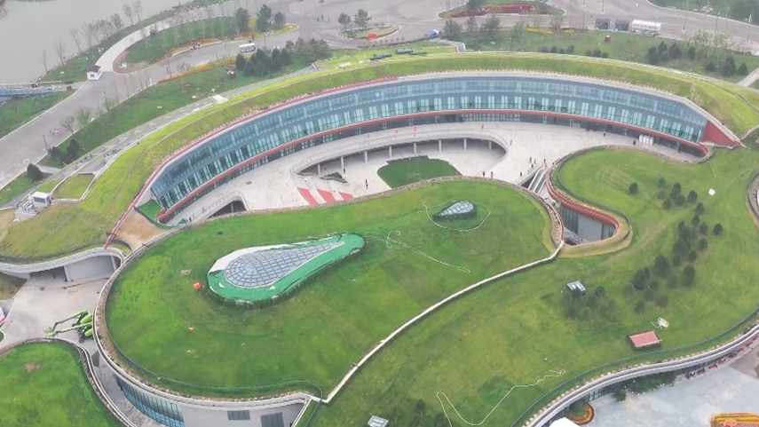 【中国雄安新闻】雄安郊野公园开园迎客