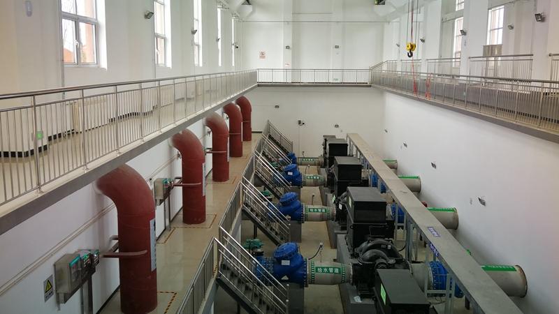 河北雄安新区起步区1#供水厂即将全面投入使用