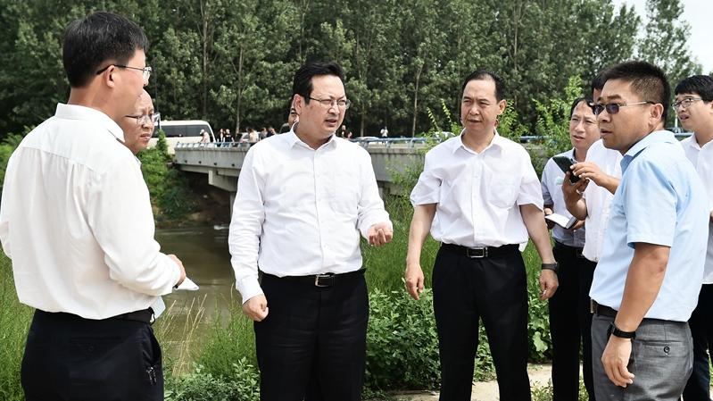 张国华调研防汛工作
