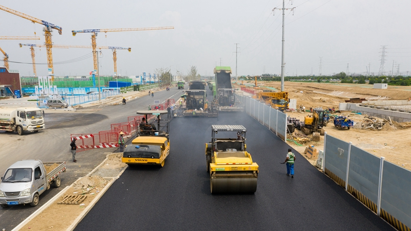 看建雄安丨探访容东片区三级道路系统 绿色出行将成主流