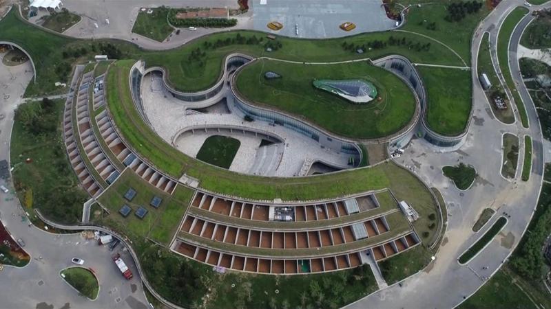 雄安郊野公园:一园游尽河北 日均游客突破2万人次