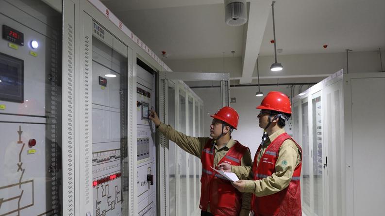 看建雄安丨雄安新区容东片区首批保供电开关站全部投运