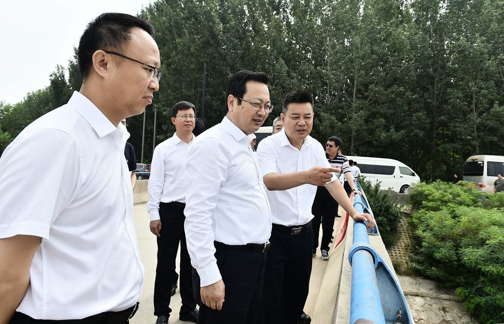 时政播报丨张国华调研检查新区防洪备汛相关情况