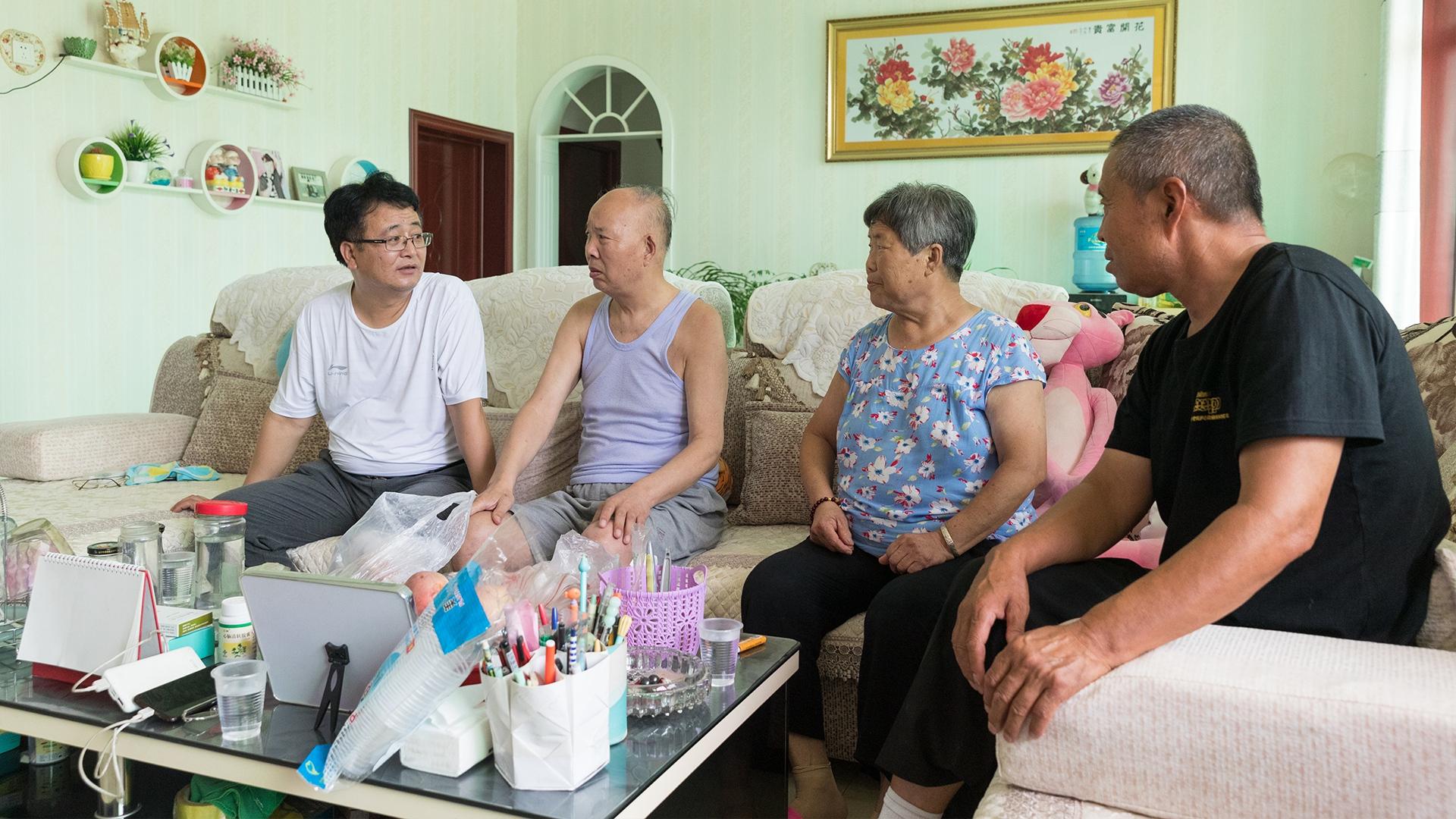 【家乡雄安】王占忠:让每一个老百姓带着笑容搬入新家