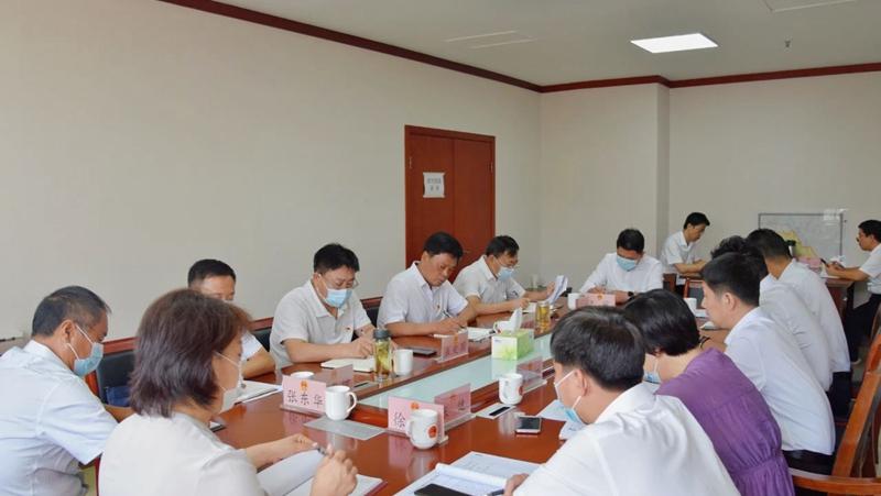 雄县人大办党支部召开党史学习教育专题组织生活会
