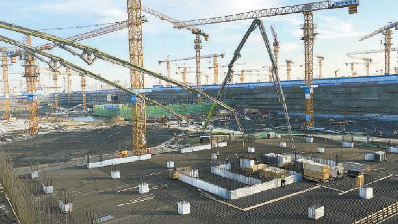 雄安首批市场化项目建设提速