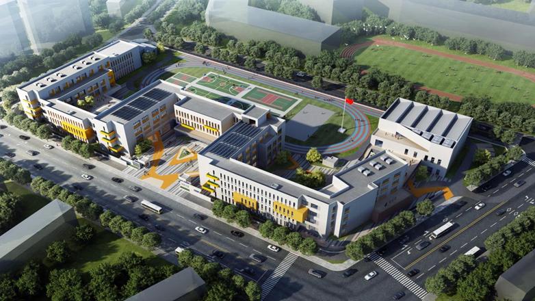 看建雄安丨好消息!雄安新区启动区西北部初中项目开工建设