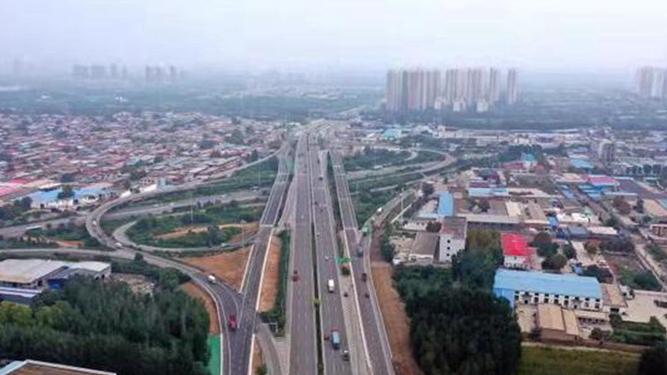 石家庄三环辅道贯通工程最后4处断点将陆续开通