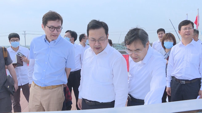 时政播报丨张国华在启动区和起步区调研基础设施项目建设