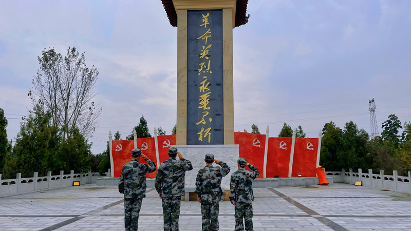 守护河北红⑨|邯郸退役老兵义务守护14位烈士英灵