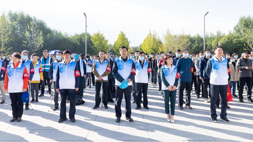 """引领文明风尚!容东片区""""悦容""""志愿服务行动正式启动"""