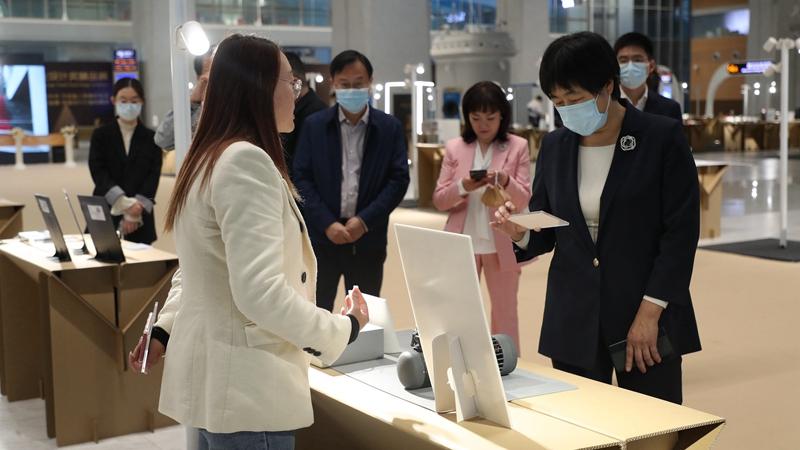 """向""""新""""而行遇见未来 第二届金芦苇奖精品展启幕"""