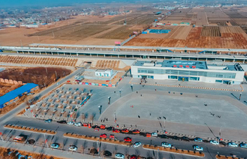 First Spring Festival travel rush in Baiyangdian, Xiongan New Area