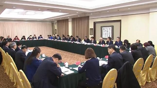 河北代表团认真审议政府工作报告 王东峰 许勤参加审议并发言