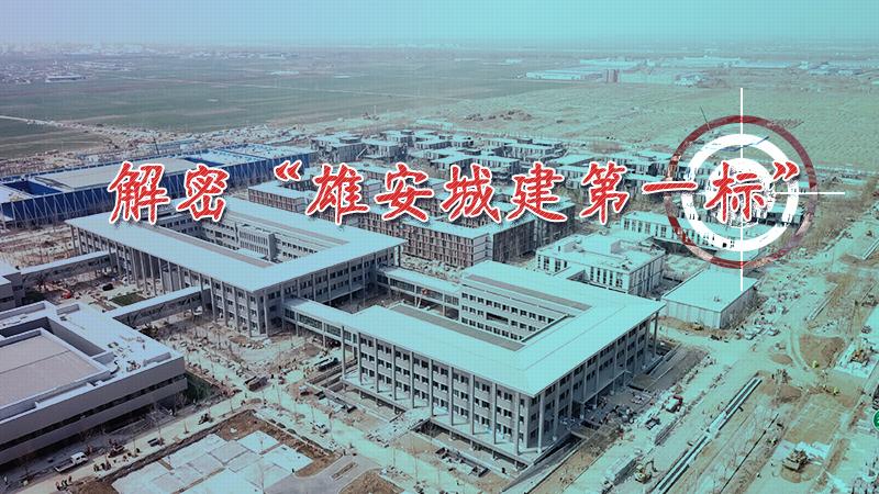 """原创视频:解密""""雄安城建第一标"""""""