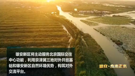 《河北雄安新区规划纲要》解读--雄安·未来正来