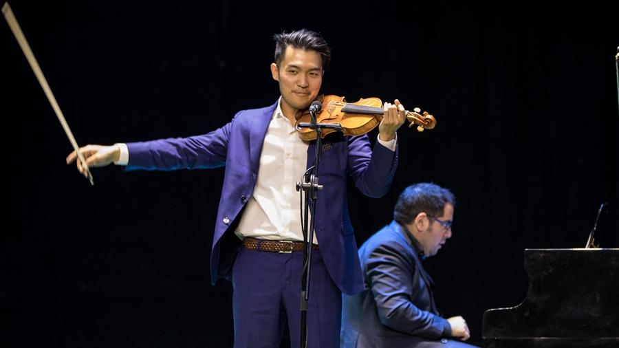 【中国雄安新闻】雄安新区白洋淀文化剧场上演国际视听盛宴