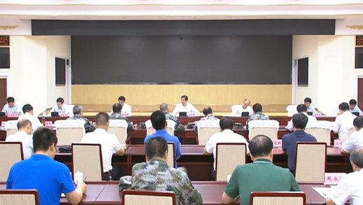 王东峰在省军区调研检查防汛工作
