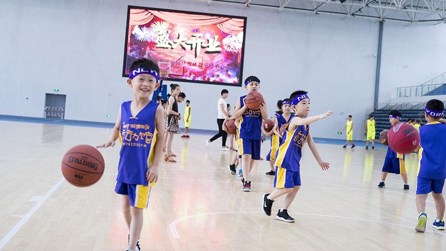 容城体育运动中心正式使用 8月继续免费开放