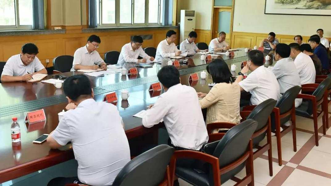 陈刚在雄安新区调研企业发展和群众就业工作
