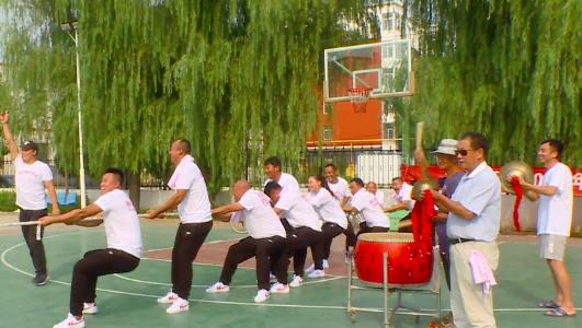 雄安新区全民健身运动会比赛进行时