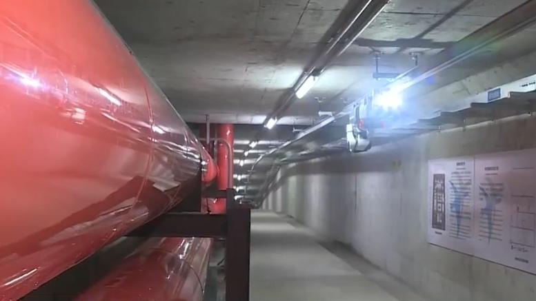 【视频】雄安新区:地下管廊投用 巡检机器人上岗