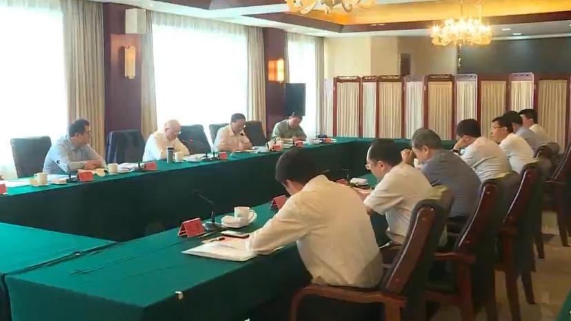 十二届全国政协副主席陈元到雄安新区考察