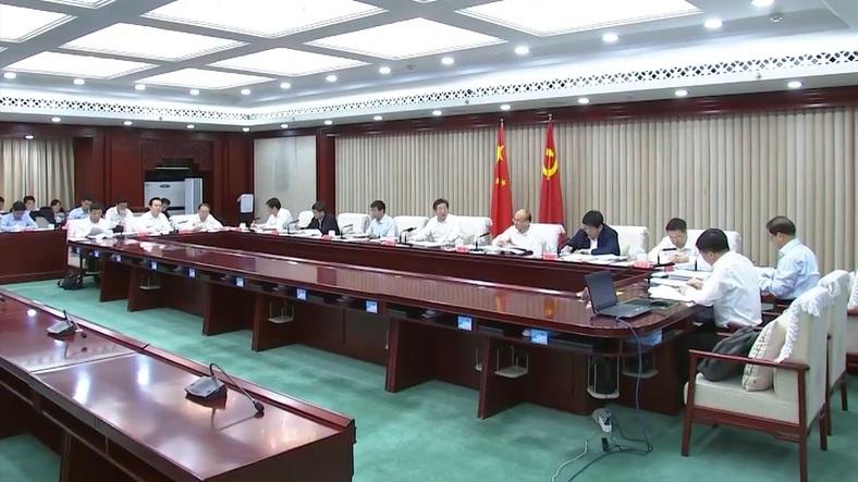 【视频】王东峰:努力打造推动高质量发展的全国样板