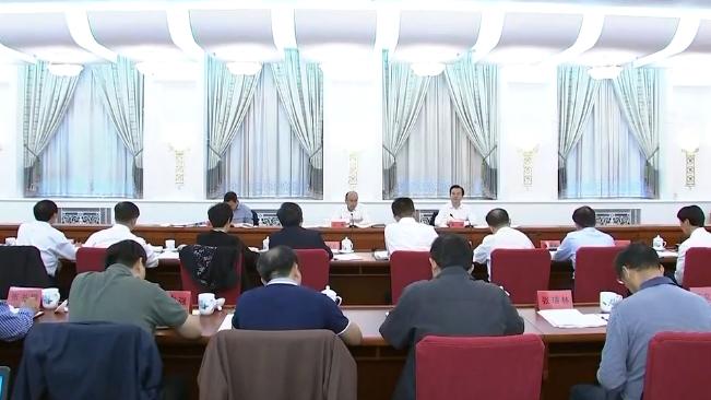 【视频】许勤主持召开省大气污染防治工作领导小组会议