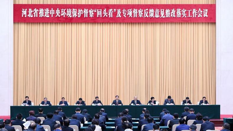 【视频】王东峰:扎实推进中央环保督察整改取得新成效