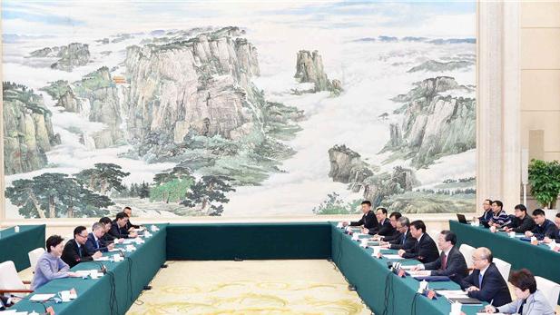 【视频】王东峰会见香港特别行政区行政长官林郑月娥一行