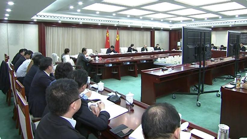 河北雄安新区规划建设工作领导小组召开会议