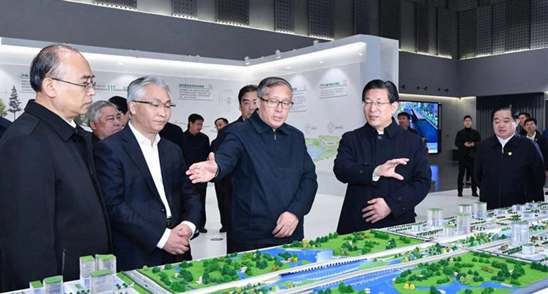 天津市党政代表团到雄安新区和石家庄市考察